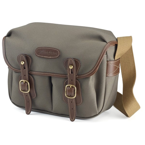 Billingham Hadley Small Shoulder Bag - Khaki FibreNyte/Chocolate