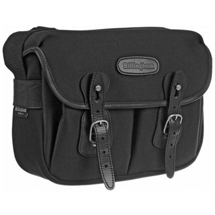 Billingham Hadley Small Shoulder Bag - Black FibreNyte/Black