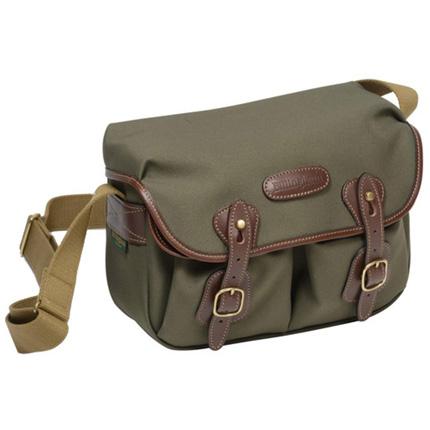 Billingham Hadley Small Shoulder Bag - Sage FibreNyte/Chocolate