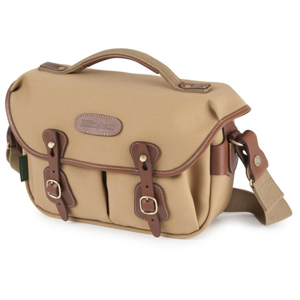 Billingham Hadley Small Pro Shoulder Bag - Khaki Canvas/Tan