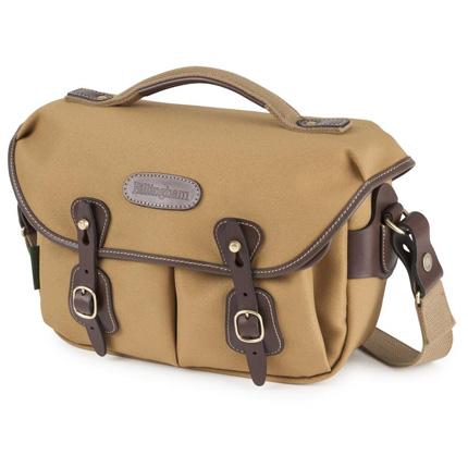 Billingham Hadley Small Pro Shoulder Bag - Khaki FibreNyte/Chocolate