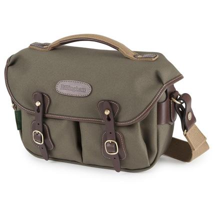 Billingham Hadley Small Pro Shoulder Bag - Sage FibreNyte/Chocolate