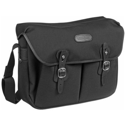 Billingham Hadley Large Shoulder Bag - Black FibreNyte/Black