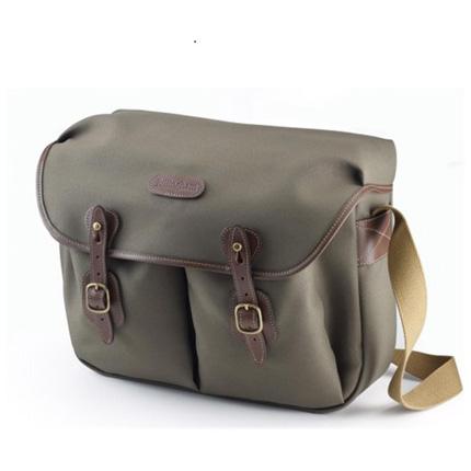 Billingham Hadley Large Shoulder Bag - Sage FibreNyte/Chocolate