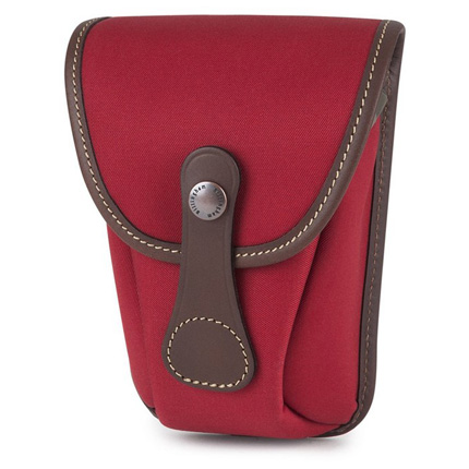 Billingham AVEA 7 Burgundy Canvas/Chocolate Pocket
