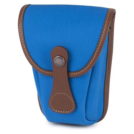 Billingham AVEA 7 Imperial Blue Canvas/Tan Pocket