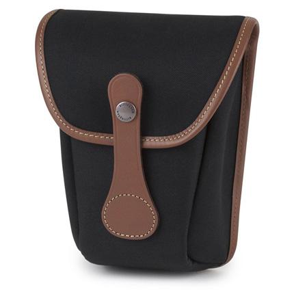 Billingham AVEA 8 Black Canvas/Tan Pocket