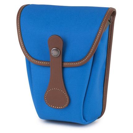 Billingham AVEA 8 Imperial Blue Canvas/Tan Pocket
