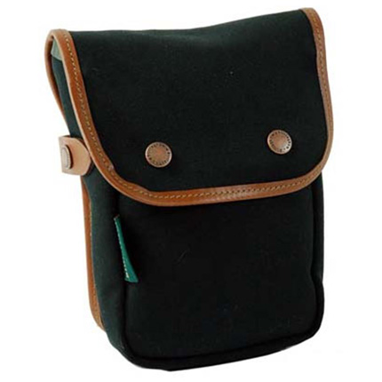 Billingham Delta Pocket Black Canvas/Tan