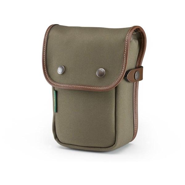 Billingham Delta Pocket Sage FibreNyte/Chocolate Pocket