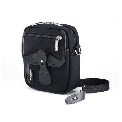 Billingham Compact Stowaway - Black Canvas/Black