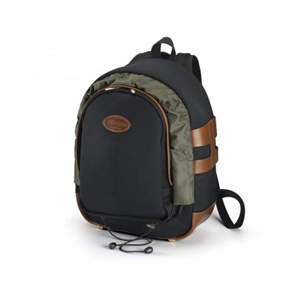 Billingham 25 Rucksack - Black Canvas/Tan