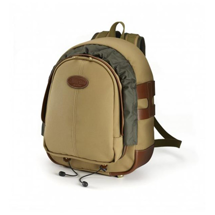 Billingham 25 Rucksack - Khaki Canvas/Tan