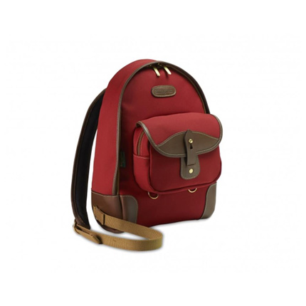 Billingham 35 Rucksack - Burgundy Canvas/Chocolate