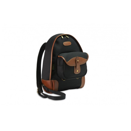 Billingham 35 Rucksack - Black Canvas/Tan