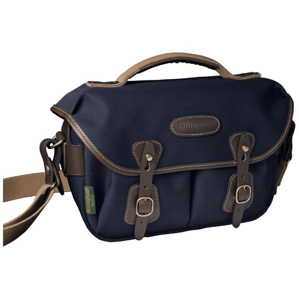 Billingham Hadley Small Pro Navy Canvas/Chocolate