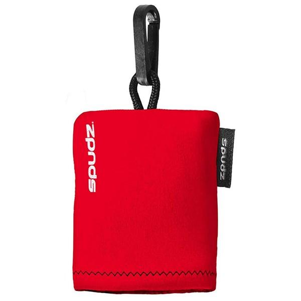 Spudz 10x10 Inch Micro-Fibre Cloth Vivid Red