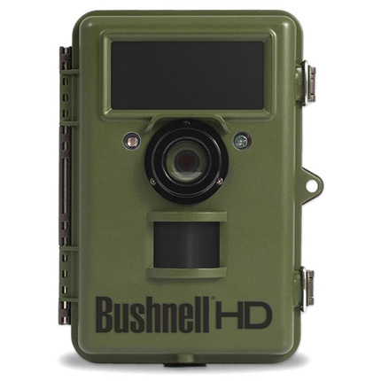 Bushnell Natureview HD Trail Camera 14MP With Live View No Glow Green