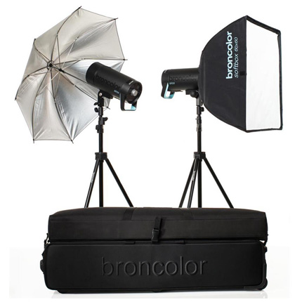 Broncolor Siros 400 S Expert Kit 2 WiFi / RFS 2 Flash Head Kit