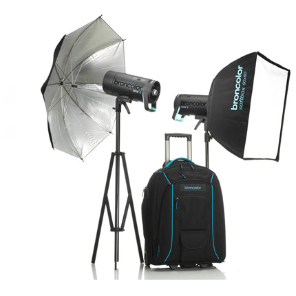 Broncolor Siros 400 L Outdoor Kit 2 WiFi / RFS 2 Flash Head Kit