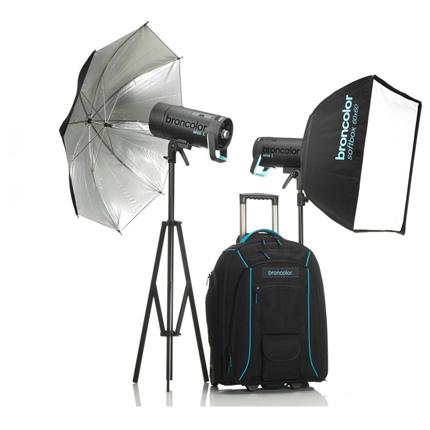 Broncolor Siros 800 L Outdoor Kit 2 WiFi / RFS 2 Flash Head Kit