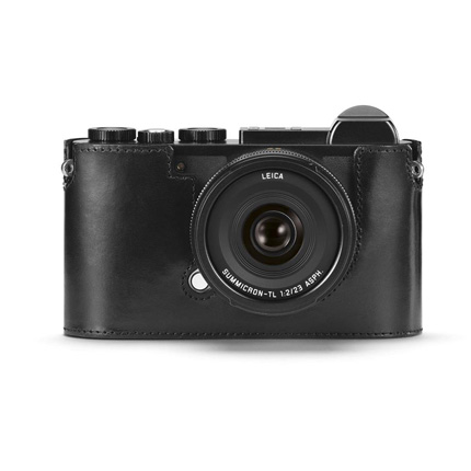 Leica CL Protector Black Leather