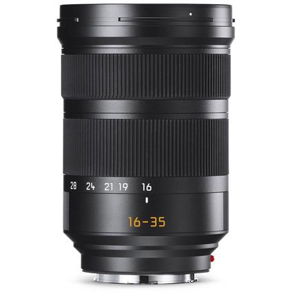 Leica Super Vario Elmar SL 16-35mm f/3.5-4.5 ASPH Lens Black Anodised