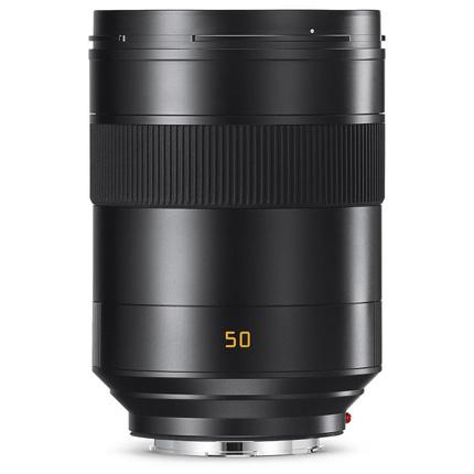 Leica Summilux SL 50mm f/1.4 ASPH Lens Black Anodised