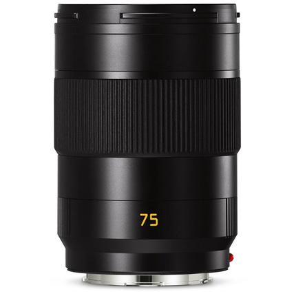 Leica APO Summicron SL 75mm f/2 ASPH Lens Black Anodised