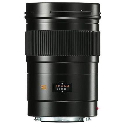 Leica Elmarit S 30mm f/2.8 ASPH CS Lens Black Anodised