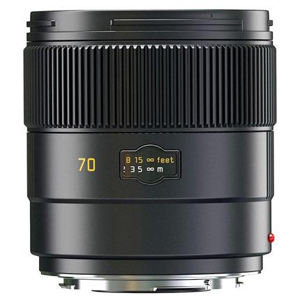 Leica Summarit S 70mm f/2.5 ASPH CS Lens Black Anodised
