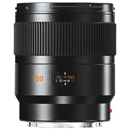 Leica Summicron S 100mm f/2 ASPH Lens Black Anodised