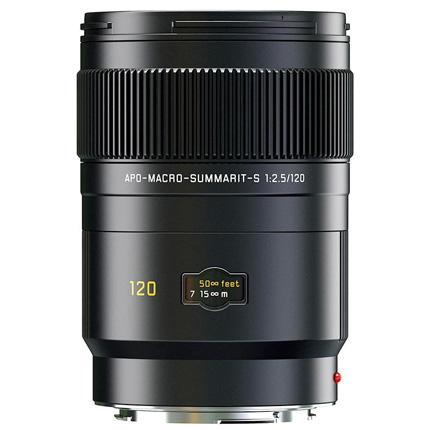 Leica APO Macro Summarit S 120mm f/2.5 CS Lens Black Anodised