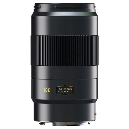 Leica APO Tele Elmar S 180mm f/3.5 Lens Black Anodised