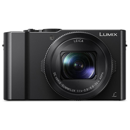 Panasonic Lumix DMC-LX15 Compact Digital Camera Black