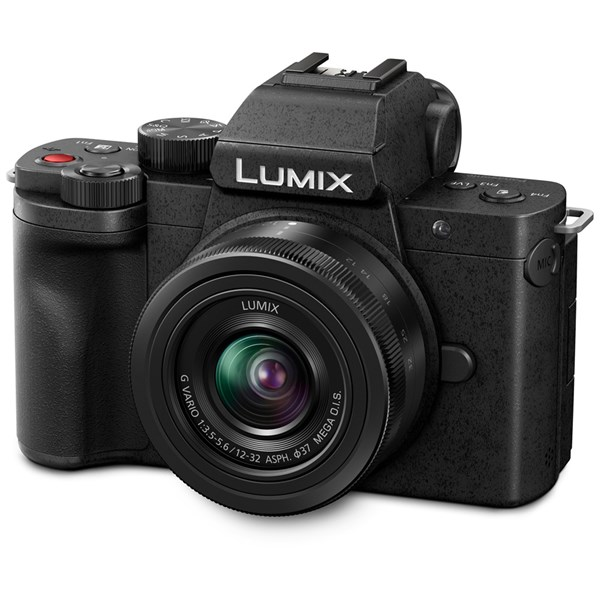 Panasonic Lumix G100 And G Vario 12-32mm f/3.5-f/5.6 ASPH MEGA OIS Lens