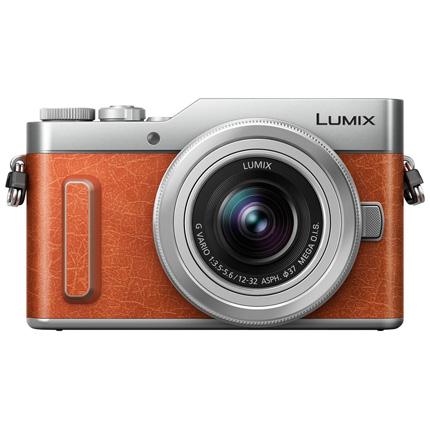 Panasonic Lumix DC-GX880 Mirrorless Camera With 12-32mm OIS Lens Tan