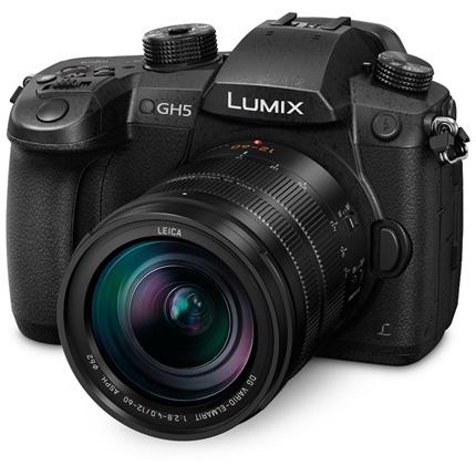 Panasonic Lumix DC-GH5 Camera With Leica 12-60mm f/2.8-4.0 Lens Black