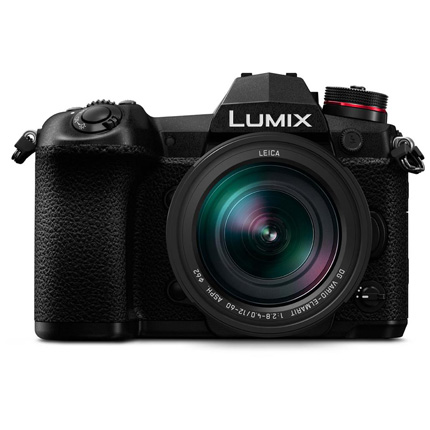 Panasonic Lumix DC-G9 Camera With Leica 12-60mm f/2.8-4.0 Lens Black