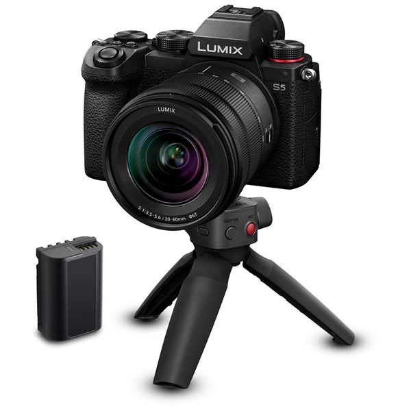 Panasonic Lumix S5 Camera With S 20-60mm Lens And Tripod Grip Kit
