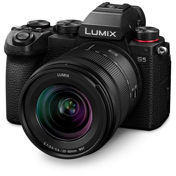 Panasonic Lumix S5 Full-Frame Camera With S 20-60mm f/3.5-5.6 Lens Kit