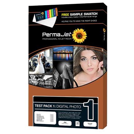 PermaJet Test Pack 1 - Digi Photo A4 27p