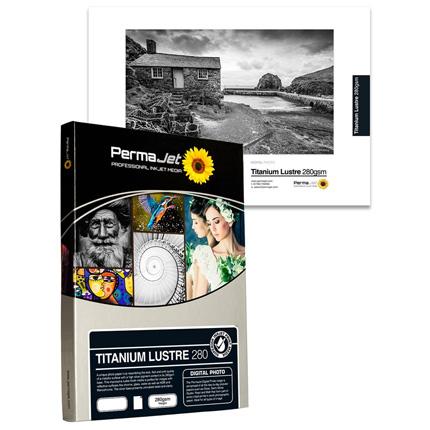 PermaJet Titanium Lustre Metallic 280gsm - A4 25 Pack