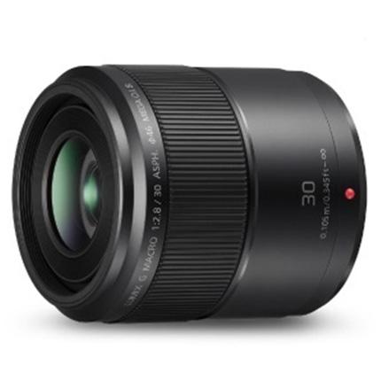 Panasonic Lumix G Macro 30mm f/2.8 ASPH MEGA O.I.S. Lens Black