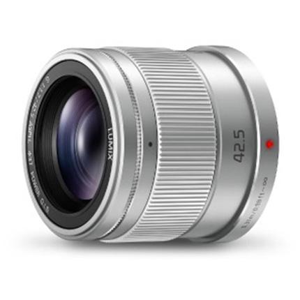 Panasonic Lumix G 42.5mm f/1.7 ASPH Power O.I.S. Lens Silver