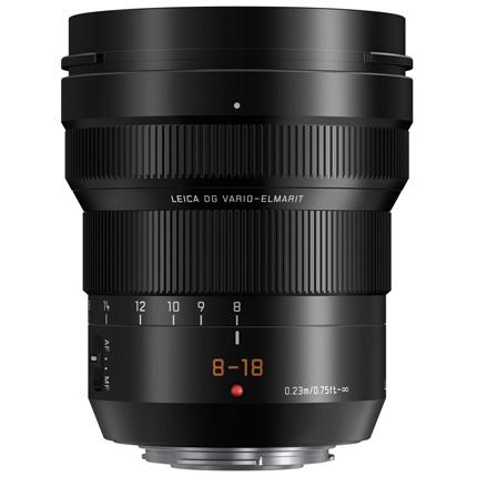 Panasonic Leica DG Vario-Elmarit 8-18mm f/2.8-4 ASPH Zoom Lens
