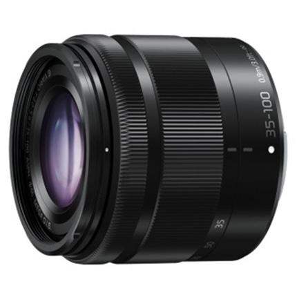 Panasonic Lumix G Vario 35-100mm f/4-5.6 ASPH MEGA O.I.S. Lens Black