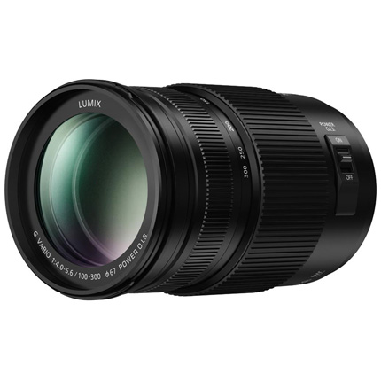 Panasonic Lumix G Vario 100-300mm f/4-5.6 II Power O.I.S. Lens