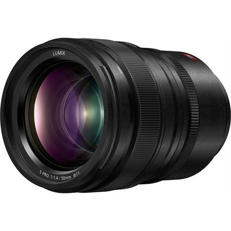 Panasonic Lumix 50mm f/1.4 S Pro L-Mount lens