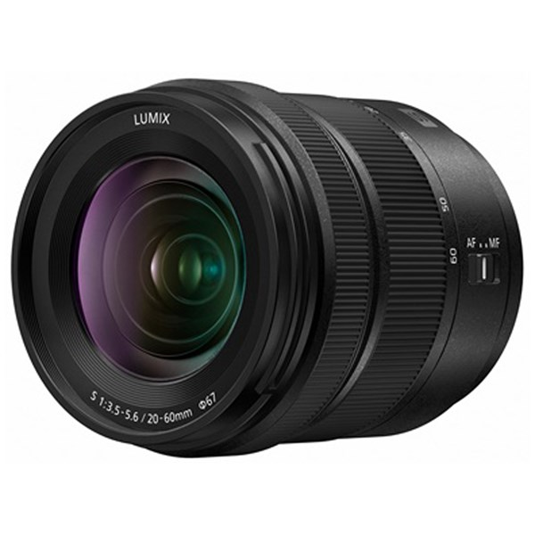 Panasonic Lumix 20-60mm f3.5-5.6 L-Mount lens